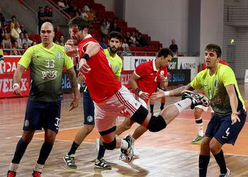SL Benfica - AM Madeira A. Sad - Andebol 1 - foto: Ricardo Rosado