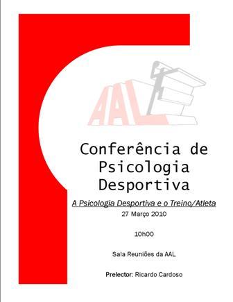 AA Leiria - Conferência de Psicologia Desportiva