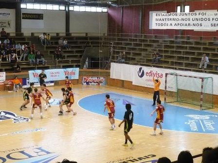 Sporting CP : CD S. Bernardo - 2ª Fase Campeonato Nacional 1ª Div. Juniores Masc. Grupo 2