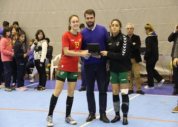 Juniores B Femininas - 2º lugar Torneio Kakygaia 2016