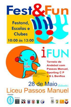 Cartaz  Fest Fun - 28.05.2011, Liceu Passos Manuel