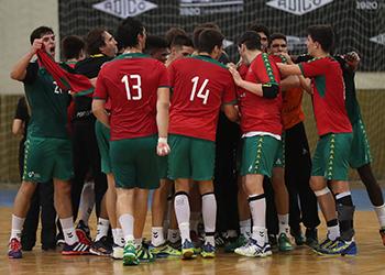 Seleção Nacional Sub-18 Masculinos - Estágio em São Pedro do Sul - 09 a 15/07/2018