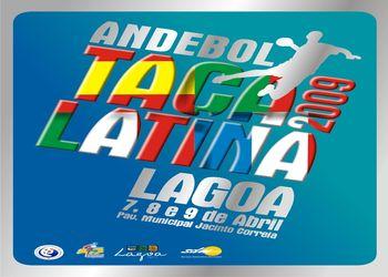 Cartaz Taça Latina 2009 em Lagoa