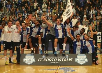 Festa no final do FC Porto-SL Benfica
