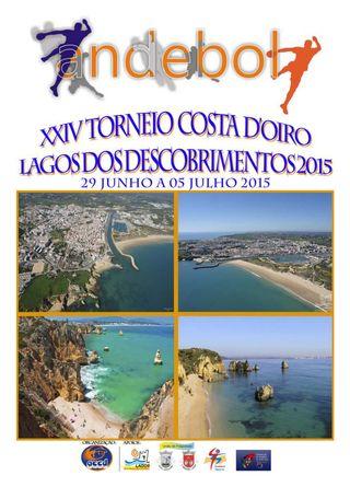 Cartaz XXIV Torneio Costa Doiro Lagos dos Descobrimentos