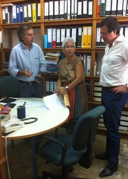 Assinatura protocolo com Escola Luís António Verney