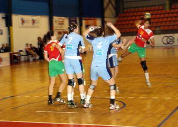 Selecção Nacional Juniores B femininas - 6º Campeonato do Mediterrâneo