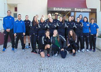 Selecção Nacional Juniores B Femininas 2014-2015 - Março 2015