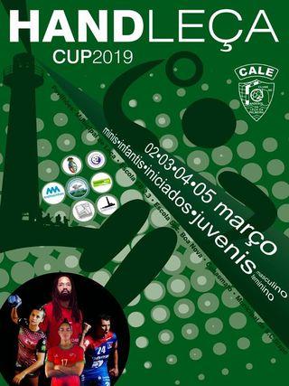 Cartaz Torneio Handleça Cup 2019