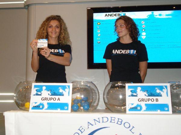 Sorteio Andebol 1