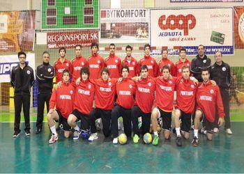 Selecção Nacional Juniores A masculinos - apuramento para o Europeu - Eslováquia