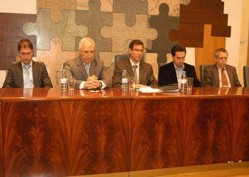 Recepção da Selecção Nacional Junior A masculina no Salão Nobre da CM Paços de Ferreira