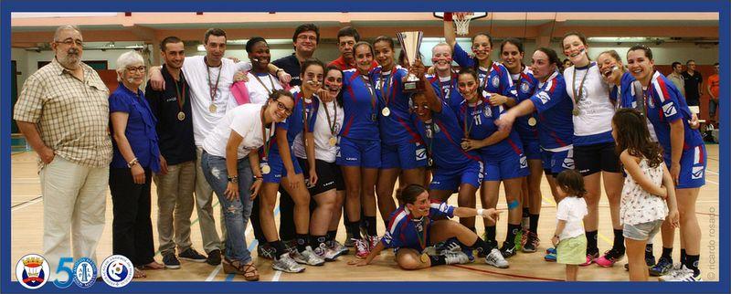 NAAL Passos Manuel - campeão nacional 2ª Divisão feminina 2013-14