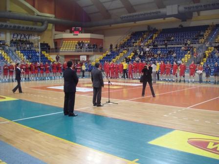 Cerimónia de Abertura da Qualificação Ech Sub20 Masculino, na Polónia
