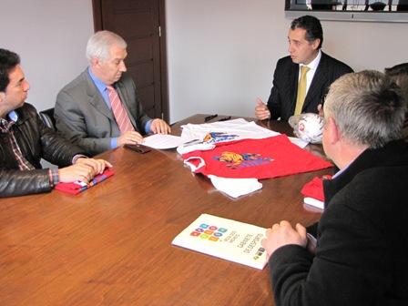 Assinatura Protocolo Federação - CM Paredes