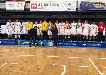 Portugal vencedor do VIII Torneio Internacional Avilés