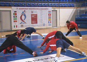 Selecção Nacional de Juniores B no 7º Campeonato do Mediterrâneo