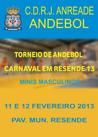 1º Torneio de Andebol Carnaval em Resende