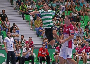 Sporting CP : HC Motor Zaporozhye - EHF Velux Champions League - foto: Ricardo Rosado