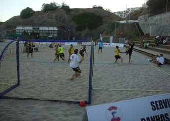 Fase Final Circuito Nacional Andebol Praia - qualifying