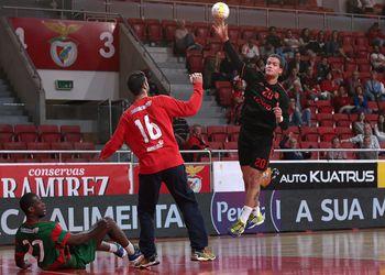 SL Benfica - AM Madeira Sad - Andebol 1 - foto: Ricardo Rosado