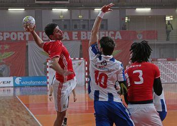 SL Benfica : FC Porto - Campeonato Andebol 1 - foto: Ricardo Rosado