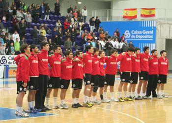 Juniores A masculinos - Quatro Nações 2012