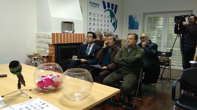 Sorteio 1/8 final Taça Portugal Fidelidade Seniores Masculinos