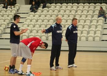 Mats Olsson - treino em Lamego