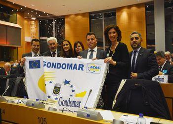 Gondomar recebeu a bandeira da Cidade Europeia do Desporto 2017 - créditos: Gabinete de Imprensa CMGondomar
