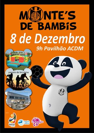 Cartaz do Encontro Monte´s de Bambis