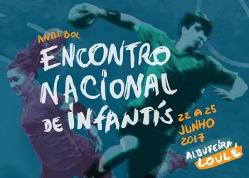 Cartaz Encontro Nacional Infantis Masculinos e Femininos 2017