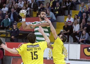 ABC/UMInho : Sporting CP - Campeonato Andebol 1 - foto: Porfírio Ferreira