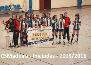 """CS Madeira """"A"""" - Iniciadas Femininas"""