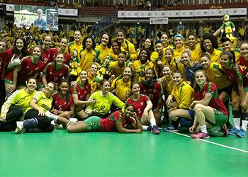 Torneio 4 Nações - Portugal : Brasil