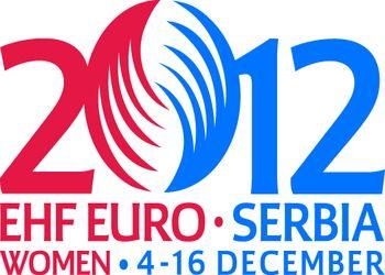 Logo Campeonato da Europa Seniores Femininos Sérvia 2012