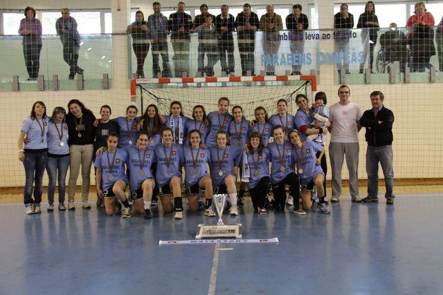 Maiastars - campeão nacional Iniciadas Femininas 2012-13