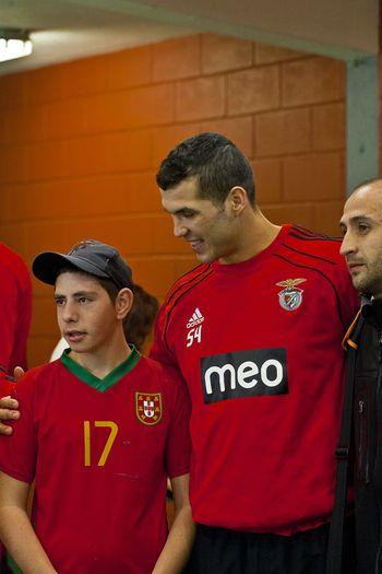 Supertaça Portimão 2011 - Visita do SL Benfica à Escola EB 2,3 Prof. José Buisel - foto: João Matos