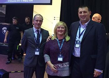 Miguel Laranjeiro, Pedro Sequeira e Leonor Mallozzi no 13º Congresso EHF
