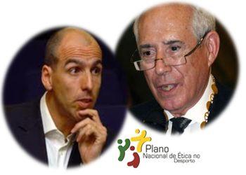 Carlos Resende e Luis Santos - Embaixadores da Ética no Desporto