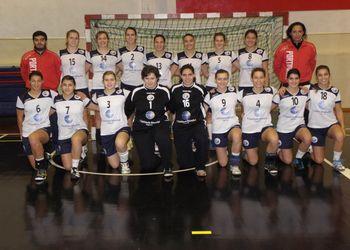 Selecção Nacional Junior A feminina 2011/12