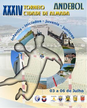 Cartaz XXXIV Torneio Cidade Almada