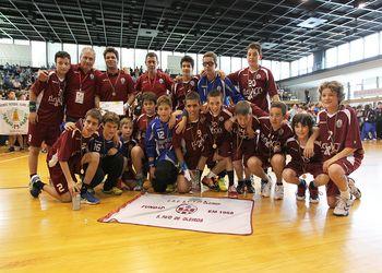 S. Paio Oleiros - campeão nacional Infantis Masculinos