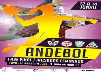 Cartaz Fase Final Campeonato Nacional Iniciados Femininos