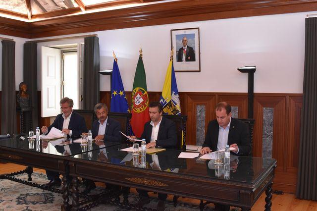 Assinatura do Protocolo de organização do Torneio Scandibérico de Juniores Masculinos em Agosto 2018