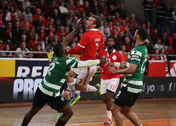 Campeonato Andebol 1 - SL Benfica x Sporting CP - Grupo A - FF - 2ª Jornada