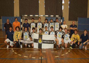 FC Gaia Campeão Nacional 2ª Divisão Juniores Masculinos 2008-09