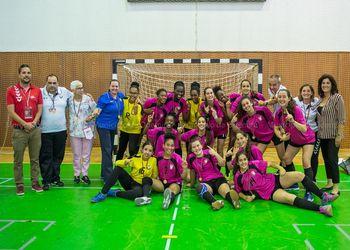 AA Lisboa - bicampeão Torneio Nacional Seleções Regionais Iniciados Femininos - foto: Município de Odemira