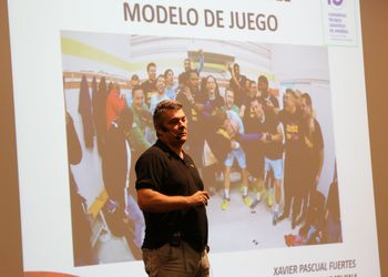 Xavier Pascual - 15º Congresso Técnico Científico de Andebol