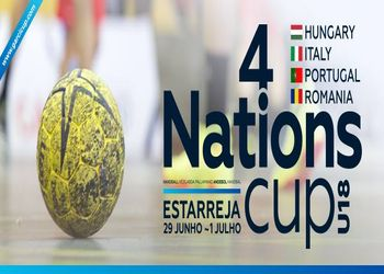 Cartaz 4 Nations Cup - Garcicup, Estarreja